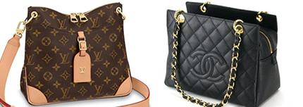 ルイヴィトン、シャネル、エルメスなどの高級ブランドのバッグや財布