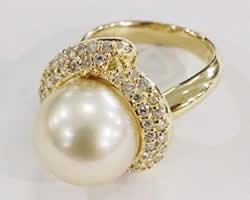 パールの指輪買取
