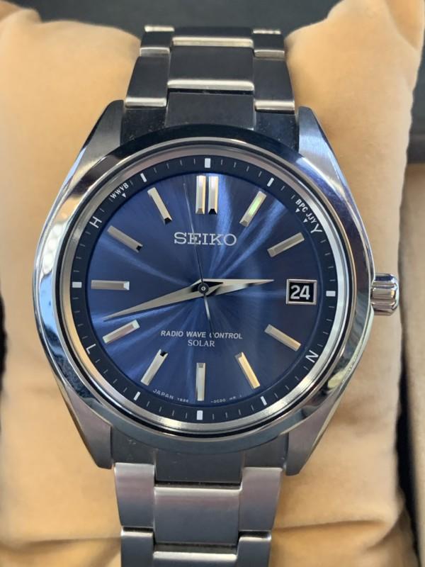 セイコーの腕時計買取・質預かり