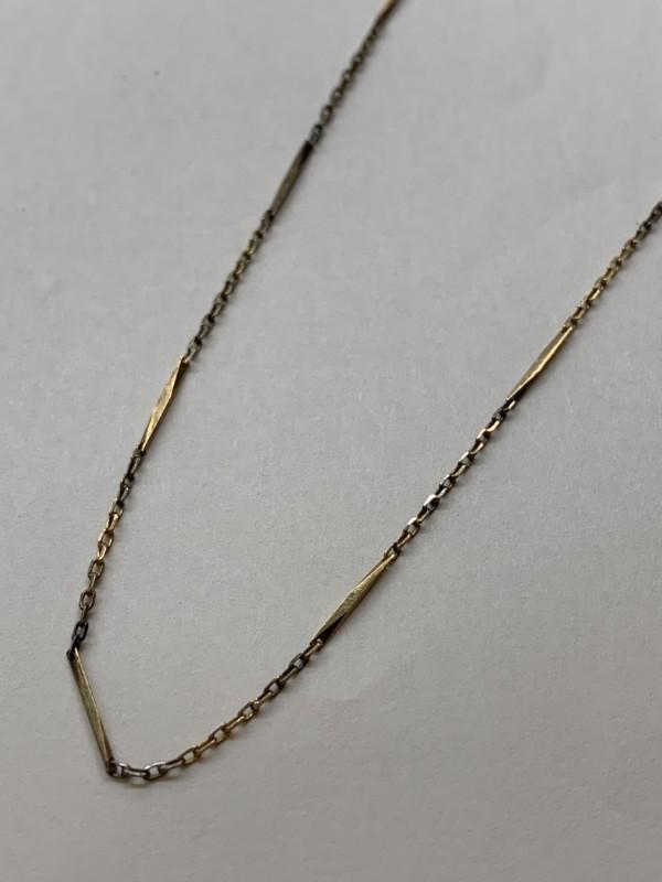 18金の切子ネックレス