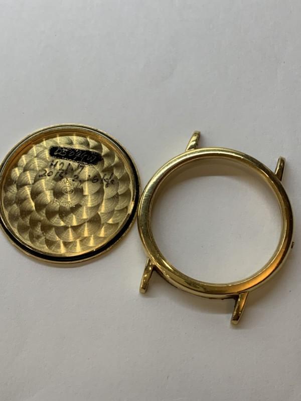 壊れた金時計・金の腕時計のケース