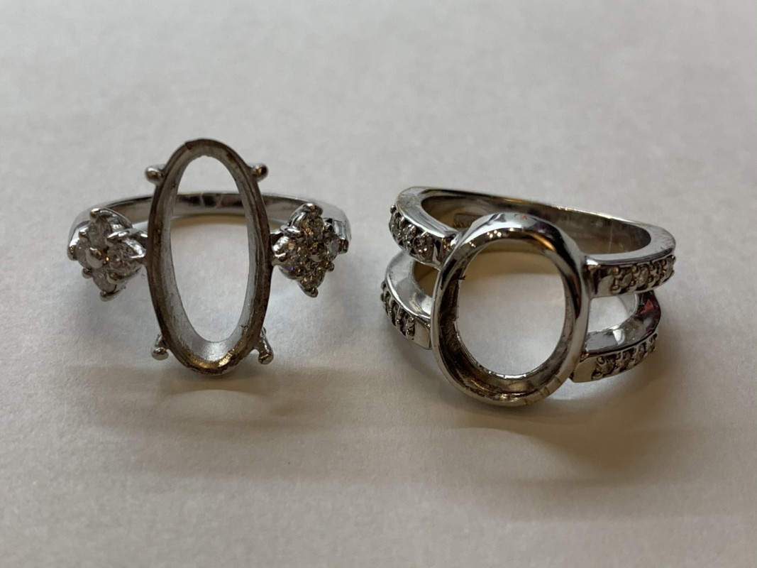 金・プラチナ・貴金属の指輪の枠