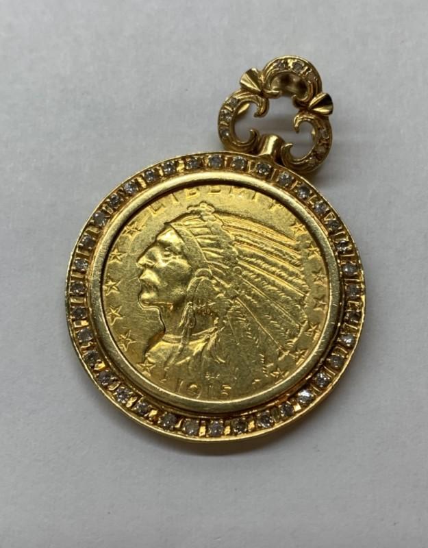 インディアンコインのペンダント