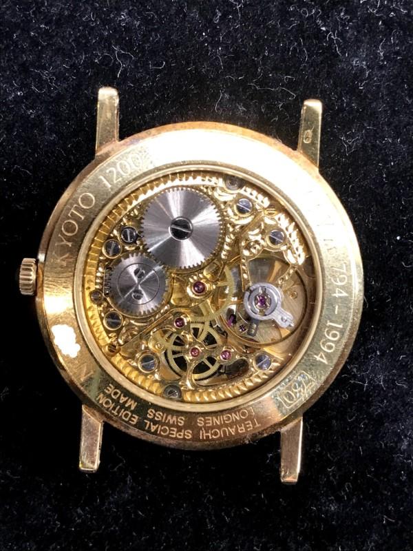 ロンジン 金時計