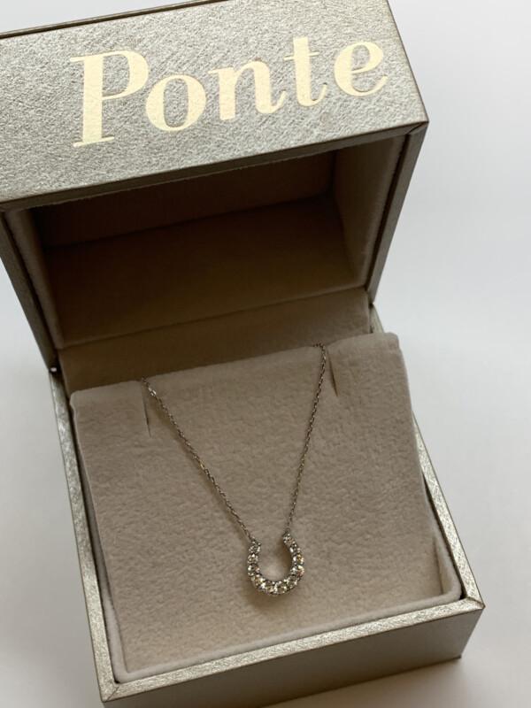 ポンテヴェキオ ダイヤモンド ネックレス