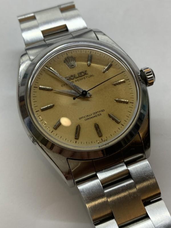 終活・生前整理・古いロレックス 腕時計