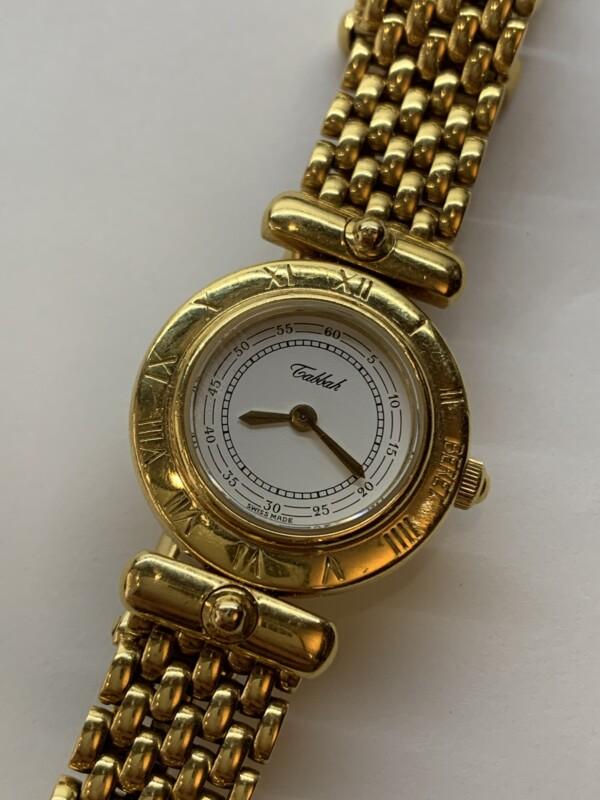 タバー ベレット K18製の腕時計