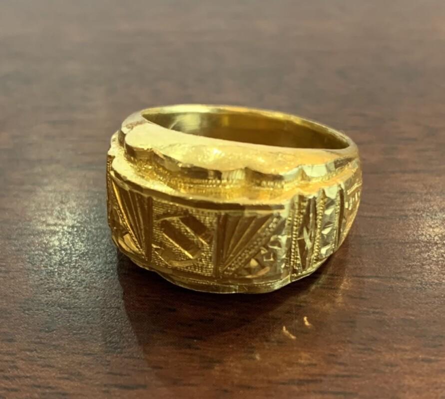 支那金 指輪