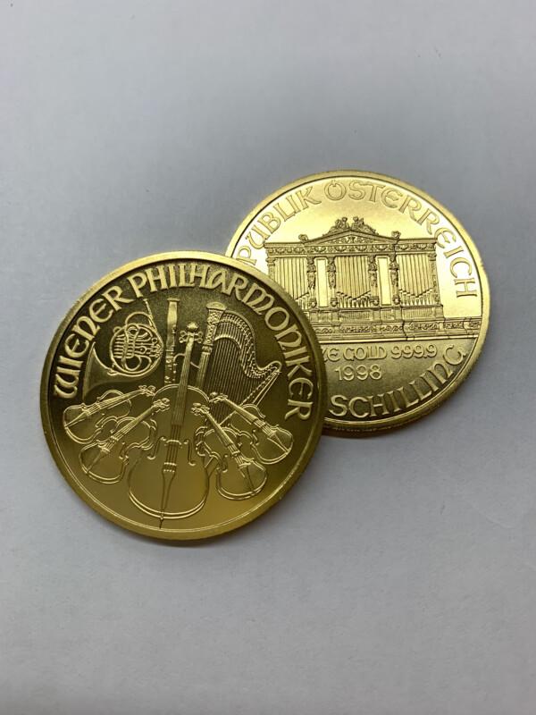 ウィーン金貨 1oz 99.99 純金製