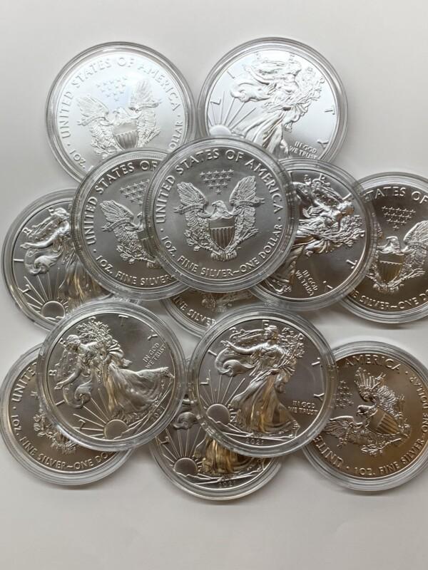 アメリカ合衆国 イーグル銀貨1OZ