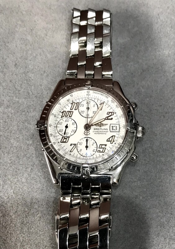 ブライトリング腕時計クロノマット