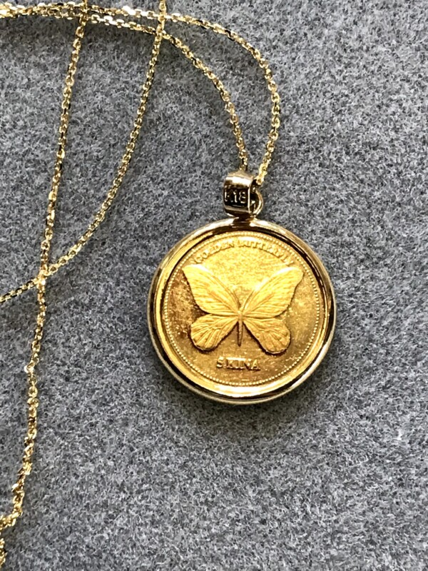 パプアニューギニア5kina金貨